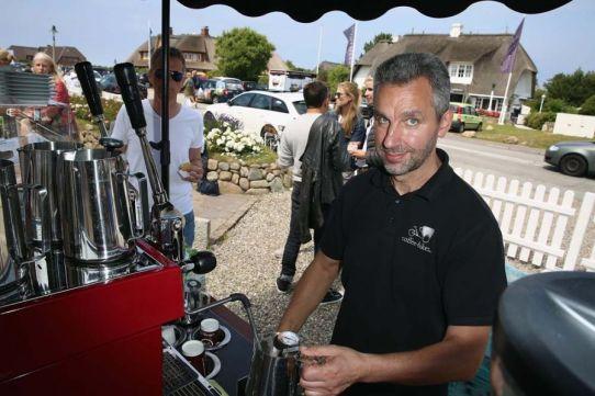 Coffee-Bike auf Sylt