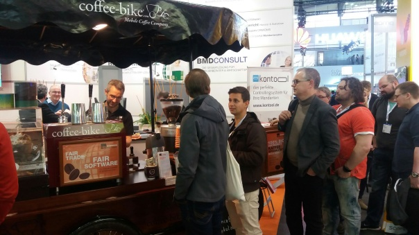 Coffee-Bike Hamburg CEBIT Catering