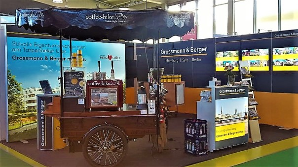 Coffee Bike Hamburg Messe